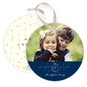 Night Divine Circle Christmas Card